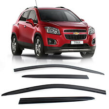 Smoke Window Vent Visors Rain Guard Sun Shield For Chevy Holden 2013-2015 TRAX