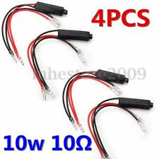 4x Motorcycle Turn Signal Indicator LED Load Resistor Flash Blinker Fix Error