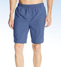 WHITE SIERRA Men's So Cal Solid SWIM Short TRUNKS - REEF Blue - Large