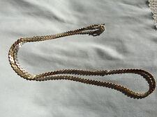 Bellissima collana catenina in argento placcata oro massima qualità silver VIDEO