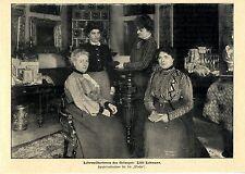 Lilli Lehmann éclairée du Gesanges * document illustré de 1903