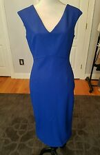 NWT Zara Blue Bodycon Tube Dress Sz M