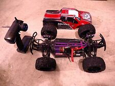 RedCat Racing Volcano EPX Electric 4WD RC Monster Truck - Red - AS-IS FOR PARTS