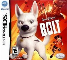 DISNEY BOLT! NDS, DS, DSI, LITE, XL, 3DS! FAMILY FUN DOG GAME PARTY NIGHT ACTION