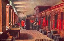 Vintage Postcard Royal Hospital CHELSEA Pensioners Ward by Charles E Flower