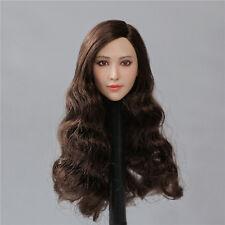 1/6 X-MEN Blink Female Head Sculpt Fan BingBing For Hot Toys Phicen in stock