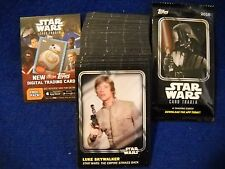 2016 Topps Star Wars Trader (Physical) BASE Set with wrapper