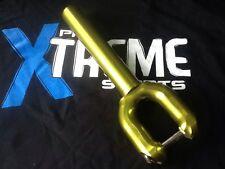 VERTEX SMX V3 OFFSET STUNT SCOOTER THREADLESS FORKS GREEN