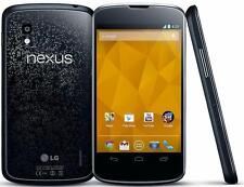"New Unlocked LG Google Nexus 4 E960 8GB GSM 4.7"" Smartphone BLACK"