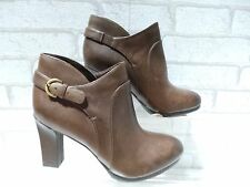 Ladies Lotus Naturalizer N5 Brown Leather Ankle Boots UK 6 EU 39 RRP £90 NOW £25