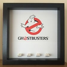 Ghostbusters Edition Mini Figure Minifig Display Frames Cases *fits Proton Packs