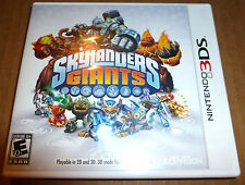 Skylanders GIANTS Game Only Nintendo 3DS Figures Sold Seperately