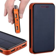 Portable External 30000mah Dual USB Solar Battery Charger Power Bank For Phone