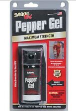 Sabre pepper tear spray gel mace gas with a nylon holster