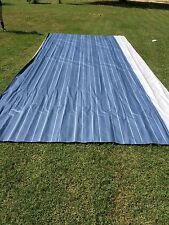 A&E Dometic  RV Camper Awning Replacement Fabric 20 ft. Sunchaser Blue  # 14