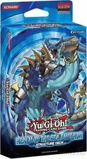 Yugioh Realm of the Sea Emperor Structure Deck-40 Cards+Game Mat+Dueling Guide!