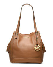 MICHAEL MICHAEL KORS ASHBURY LARGE ACORN PEBBLED LEATHER GRAB BAG