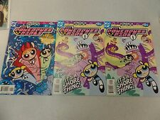 3 Issues Signed The Powerpuff Girls Comic Books #15 & #25