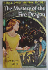 Nancy Drew #38 Mystery of the Fire Dragon Carolyn Keene Lavender Binding