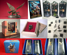 MONSTER HUNTER ESPINAS STATUES FIGURES DIORAMAS RING ART PRINT - ULTRA RARE