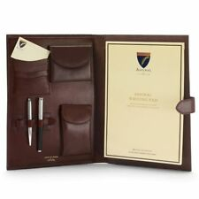 Aspinal of London A4 Conference Portfolio. Smooth Cognac & Expresso. RRP £295.