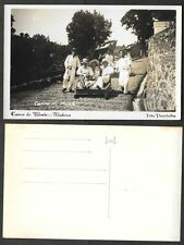 Old Portugal Real Photo Postcard - Madiera - Carro de Monte, Sleds