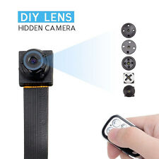 1080 HD Screw spy hidden video micro nanny pinhole camera DVR recorder cam