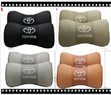 2pcs High Quality Car Rest Cushion Headrest TOYOTA Pillows Mat Neck Holder Brace