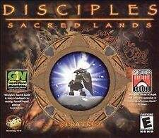 Video Game PC Disciples Sacred Lands Jewel Case 2002 NEW SEALED Jewel