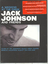 JACK JOHNSON AND FRIENDS - A WEEKEND AT THE GREEK - 2 DVD (NUOVO SIGILLATO)