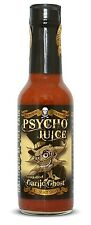 Dr Burnorium Psycho Juice 148ml Roasted Garlic Ghost Pepper Hot Chilli Sauce