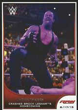 The Undertaker WWE Road To Wrestlemania 2016 Trading Card #74 WWF