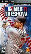 MLB 11 The Show PSP (NEW/FACTORY/SEALED)