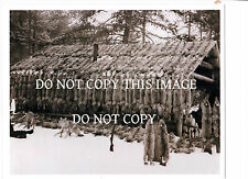 ANTIQUE REPRINT 8X10 PHOTO HUNTING TRAPPING TRAPPER COYOTE BOBCAT BEAR HIDES
