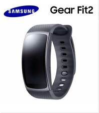 Samsung Gear Fit2 SM-R360 Sports Band SmartWatch Fitness Tracker Black Large