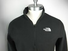 THE NORTH FACE  MEN'S 1/4 ZIP FLEECE GLACIER JACKET BLACK PULLOVER SIZE XXL