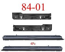 84 01 Jeep Cherokee 4Pc Inner & Outer Rocker Panel Kit, XJ, 84 90 Wagoneer NIB!!