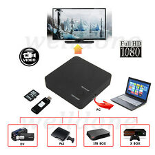 H.264 HDMI HD HDD Video Capture Nano Recording For Wii PS4 XBOX TV DVD PC Laptop
