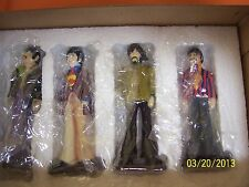 Gartlan NIB The Beatles Yellow Submarine Matched Set 4 figurines COA John Paul +