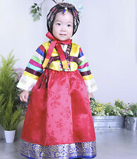 HANBOK Dolbok 1st birthday Korean traditional Korea Ethnic Dress Baby Girl 3042