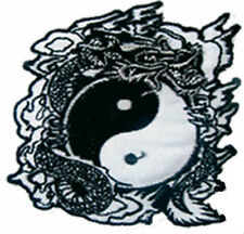 Ecusson patch thermocollant dragon ying yang