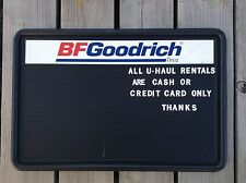 BF GOODRICH Tires Dealer Message Display Sign Plastic Advertising 36x24 Man Cave