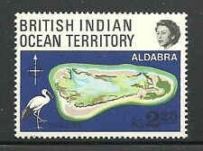 Album Treasures Br Indian Ocean Territory Scott # 34 Aldabra Atoll Mint NH