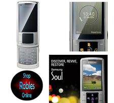Samsung u900 Silver Platino (Senza SIM-lock) 3g 5,0mp Flash Radio mp3 ACCETTABILE