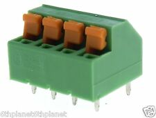 5x 4-Way PCB connector 5mm Pitch 12A 320V Phoenix Contact 1790649 MFKDSP/ 4-5,08