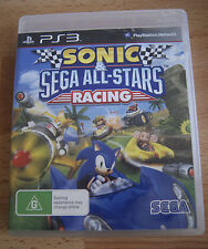 Sonic & Sega All-Stars Racing PS3 PlayStation 3 Video Game Complete