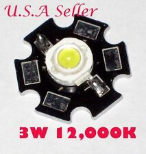 3W High Power White 12,000K LED DIY item