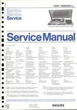 Philips Original Service Manual für TAPC 22 RH 935