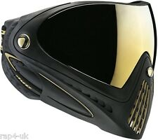 Dye i4 lunettes masque de paintball-Noir / Or [ CO1 ]