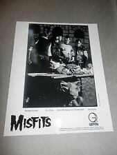 Misfits American Psycho Set Promo Photo 8x10 Record Insert Famous Monsters
